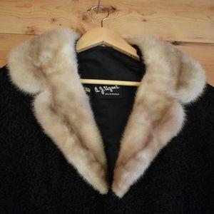 Vintage Persian Lamb's Wool and Lush Fur Collar